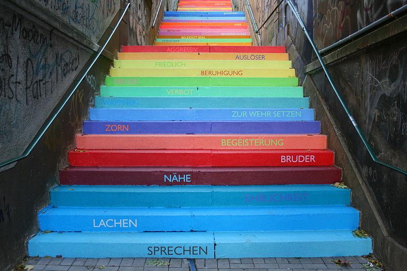 Ihr Zwerchfell liebt Treppensteigen. Also los!